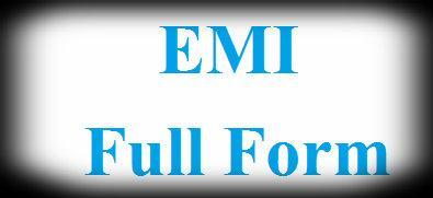 emi full form