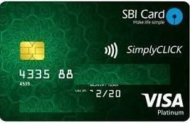 SBI Simple Click Card