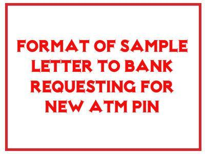 application for new atm pin number