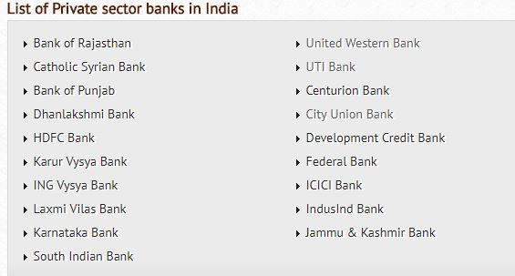 private sector bank
