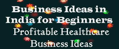 business ideas in india for beginners