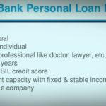 hdfc personal loan eligibility