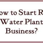 How to Start RO Water Plant Business