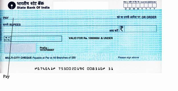 credit card bill pay by cheque